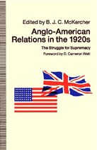Anglo-American Relations in the 1920